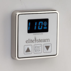 Elite Steam Inside Control Brushed Nickel