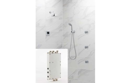 Steam Shower with Shower Valve