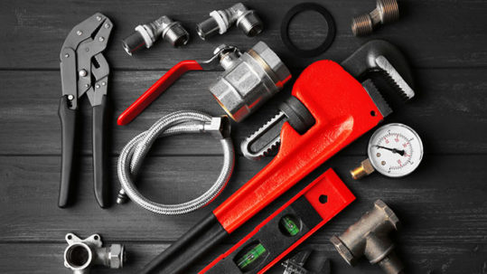 handy tools for fixing a steam generator